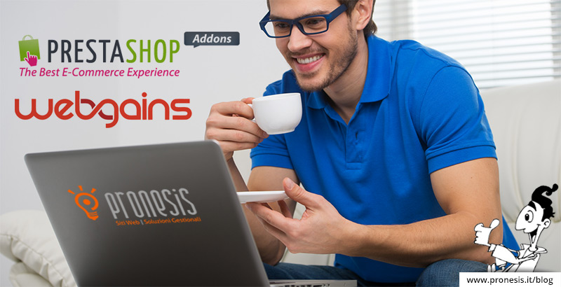 Feed xml webgains per prestashop