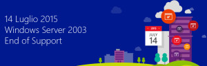 windows server 2003 fine del supporto