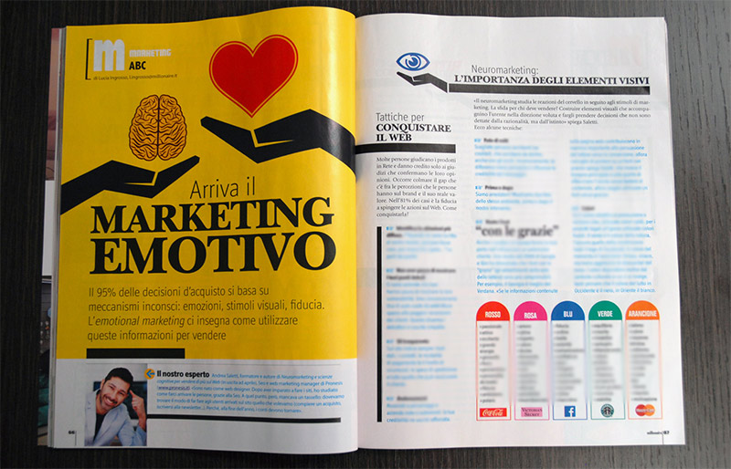 Millionaire marketing emotivo Andrea Saletti